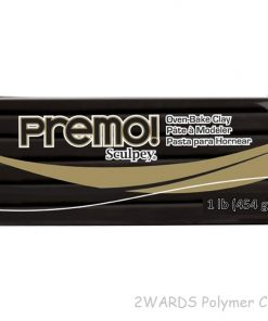 Premo Sculpey Polymer Clay - Black 454g