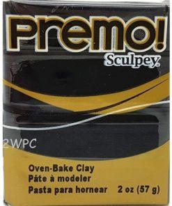 Premo Sculpey Polymer Clay - Black 57g