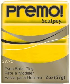 Premo Sculpey Polymer Clay - Cadmium Yellow Hue 57g