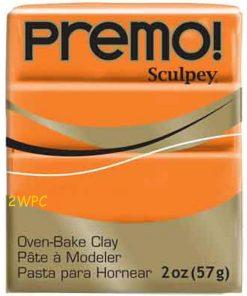 Premo Sculpey Polymer Clay - Orange 57g