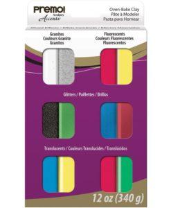 Premo!® 12 piece Sampler Set – Accents
