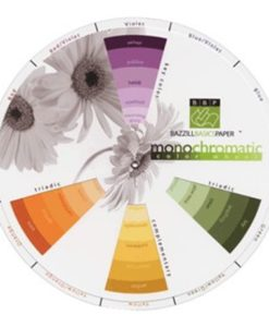 Bazzill Monochromatic Colour Wheel