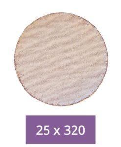 Poly-Fast Sanding Disks - 320 Grit