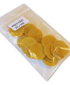 Poly-Fast Sanding Disks - 500 Grit 3