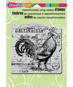 Cling Stamp - Rooster Elements