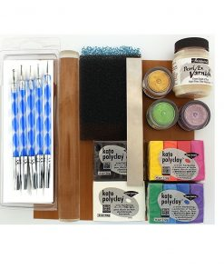 Polymer Clay Starter Kit - Silver Level. a