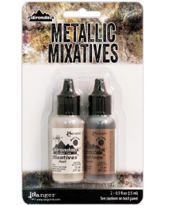 Adirondack® Alcohol Ink Mixatives Kit - Pearl & Copper