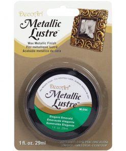 decoart-metallic-lustre-elegant-emerald
