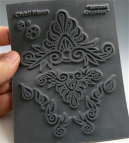 Christi Friesen Texture Stamp – Relaxed Grandeur