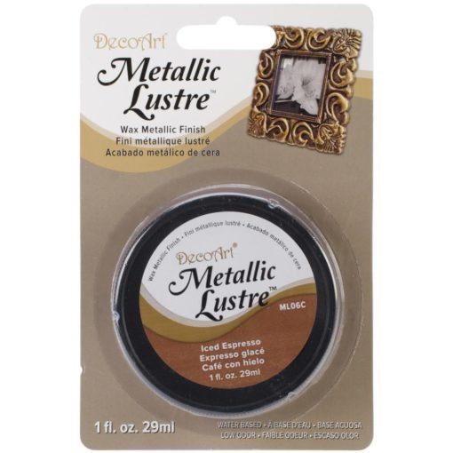 DecoArt Metallic Lustre - Iced Espresso