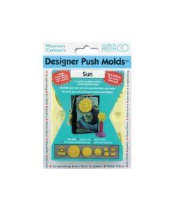 Amaco (Maureen Carlson's) Designer Push Moulds- Sun