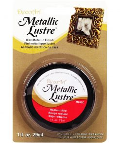DecoArt Metallic Lustre - Radiant Red