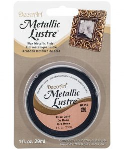 DecoArt Metallic Lustre - Rose Gold