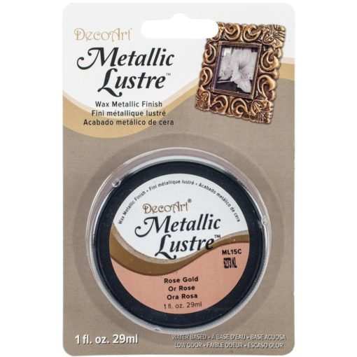 DecoArt Metallic Lustre - Rose Gold