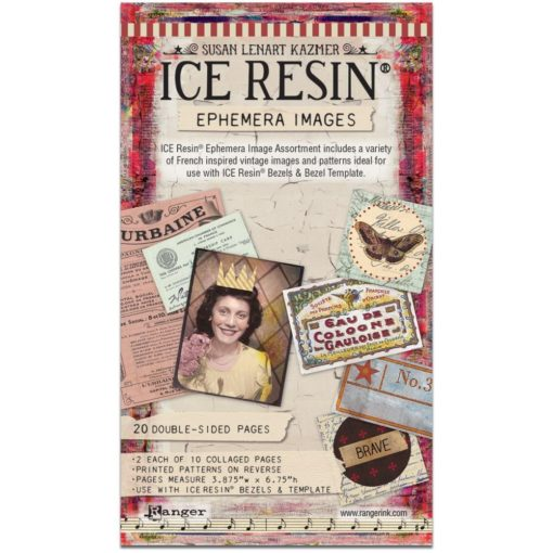 ICE Resin Ephemera Image Assortment
