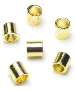 Jewellery Basics – Crimp Tubes, 2mm, Gold