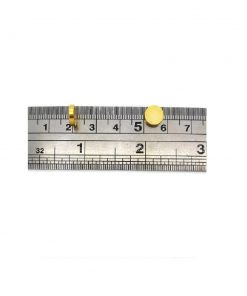 Neodymium Rare Earth Magnets, 8mm x 2mm (Gold)
