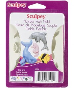 Sculpey Push Mould – Sea Life