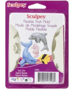 Sculpey Push Mould – Sea Life