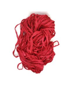 Sari Silk Ribbon - Hot Date - sold by the metre
