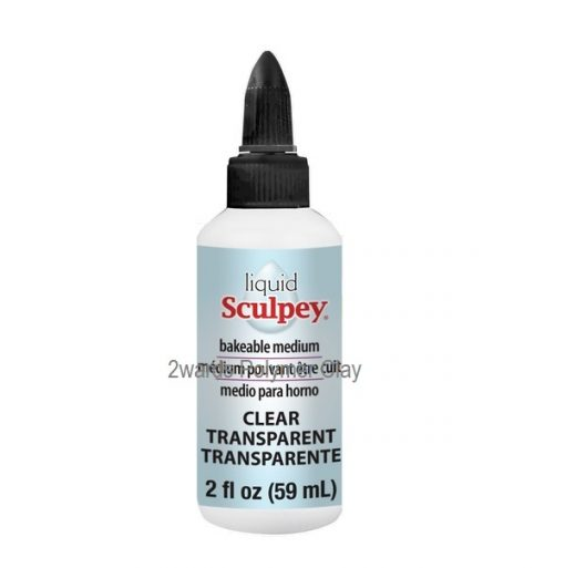 Sculpey® Liquid Bakeable Clay - Clear.2