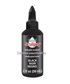 Sculpey® Liquid Bakeable Clay - Black.2