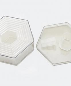 Acrylic Cutter Set – Hexagon