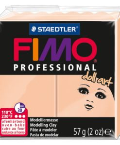 Fimo Professional Doll Art Polymer Clay - Opaque Cameo