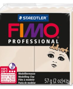Fimo Professional Doll Art Polymer Clay - Translucent Beige
