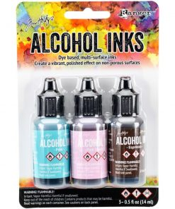 Adirondack® Alcohol Ink Kit - Retro Cafe