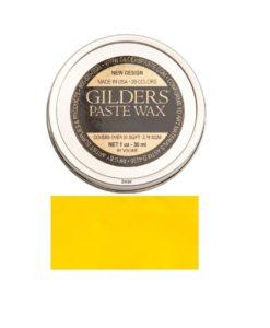 Baroque Art Gilders Paste Canary Yellow 30ml, 1.5oz