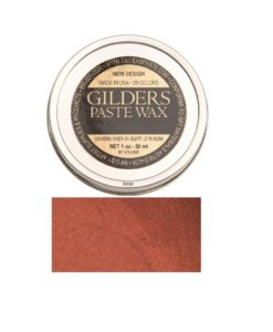 Baroque Art Gilders Paste Coral Red 30ml, 1.5oz