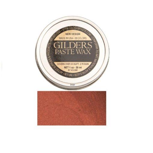 Baroque Art Gilders Paste Coral Red 30ml, 1.5oz