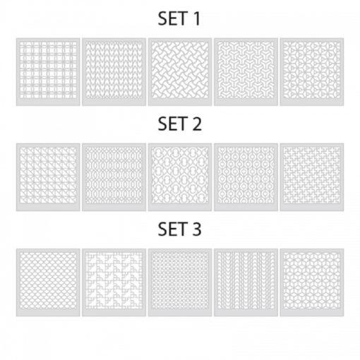 LC Stencils Set 1-3