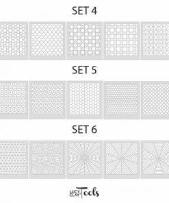 LC Stencils Set.4-6
