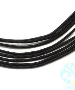 Parachute Cord - Black (per metre).1
