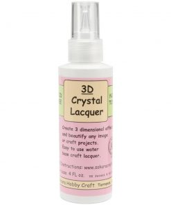 3D Crystal Lacquer - 118ml (4oz)