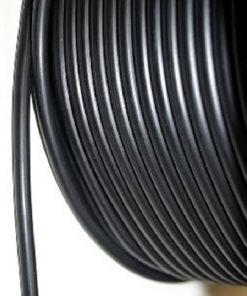 Hollow Synthetic Rubber Cord - 3mm (outer diam.)