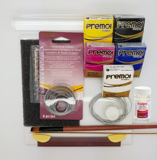 Polymer Clay Starter Kit - Premo Clay & Necklace Tutorial.4