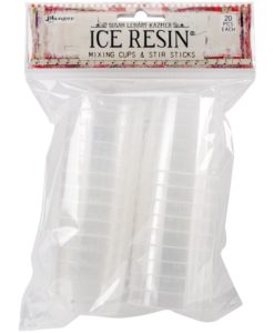 Ice Resin Mixing Cups and Stir Sticks 20pkg