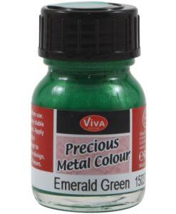Viva Decor Inka Gold - Emerald Green