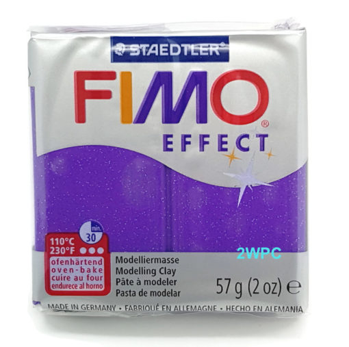 Fimo Effect - Glitter Purple