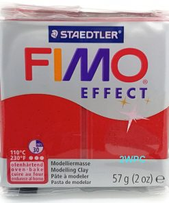 Fimo Effect - Glitter Red