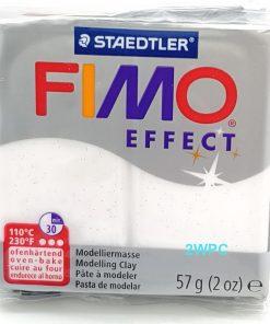 Fimo Effect - Glitter White