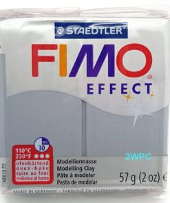 Fimo Effect - Metallic Silver