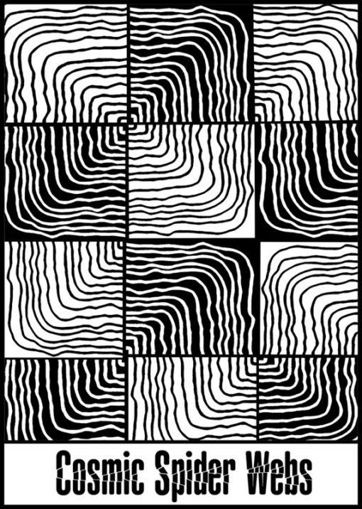 Helen Breil Texture Stamp – Cosmic Spider Webs