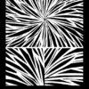 Helen Breil Texture Stamp – Radiating Rays