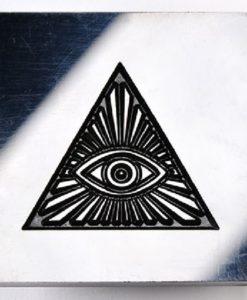 Kor Tools Acrylic Texture Pane - Pyramid Eye