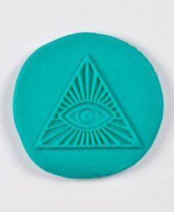 Kor Tools Acrylic Texture Pane - Pyramid Eye.1