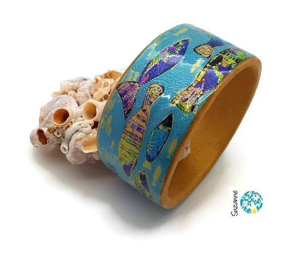Fish Bangle by Suzanne Ward